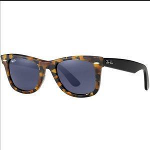 d8796bb866390 Ray-Ban Accessories - Original Wayfarer Fleck Blue Tortoise Sunglasses